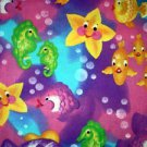 Rainbow fish Horsefish Moonfish Fabric