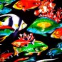 "COASTAL REEFS"" TROPICAL FISH Fabric - R. KAUFMAN"