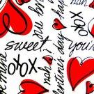Valentine XOXO Fabric FQ