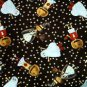 Halloween kids in costumes Fabric FQ