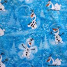 Disney Olaf Winter Toss fabric 1/2 yard