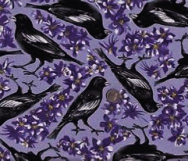 State Birds Colorado Larks fabric for quilt