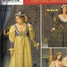 Simplicity Sewing Pattern 0687 Renaissance Dress Costume Pattern Misses Size 10 12 14
