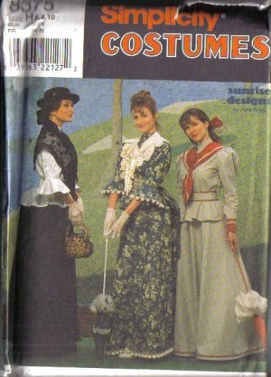 Edwardian Gown Costume Sewing Pattern | Sewing | Pinterest