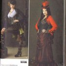 Simplicity Sewing Pattern 1819 Steampunk Victorian Costume Misses Size 6 8 10 12