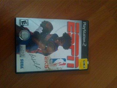 Espn 2005 ps2 game