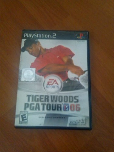 Tiger Woods PGA Tour 2006 Ps2 Game