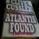 Clive Cussler Atlantis Found book