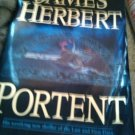 James  Herbert Portent book