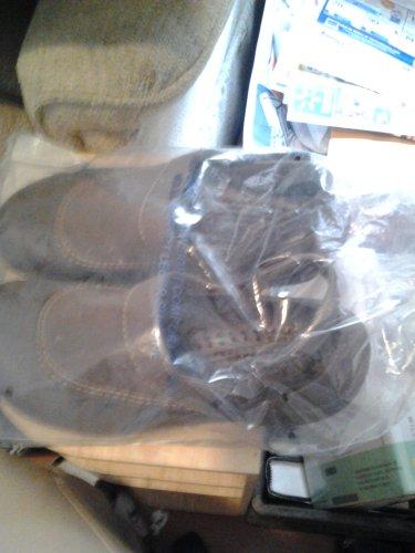 brown slipon shoes