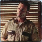 Rick Grimes Andrew Lincoln Walking Dead Zombies Wall Art Table Accent Paperweight Coaster Display