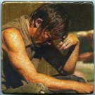Daryl Dixon Norman Reedus The Walking Dead Redneck Wall Art Tiles Coasters Table Accent Paperweight