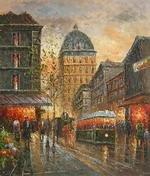 Evening delight in Paris