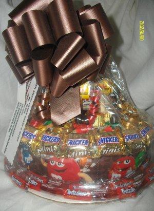 Handmade Candy Bar Cake M n M Free Shipping