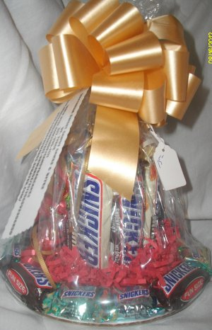Handmade Candy Bar Cake Snickers Free Shipping
