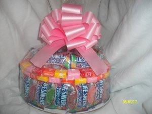 Handmade Candy Bar Cake Lifesaver Free Shipping