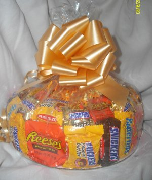 Handmade Candy Bar Cake Mixed  Free Shipping
