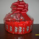 Handmade Candy Bar Cake Kit Kat Round Free Shipping