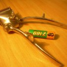 Vintage Russian Soviet  USSR Mechanical Metal Hair Clipper Cutter Machine 1970