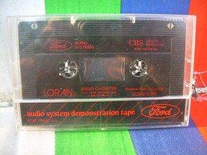 Vintage Loran Demonstration Cassette Tape Perfect Condition