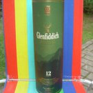 Collectible Glenfiddich 12 Years Scotch Whisky Container Empty Large Cardboard