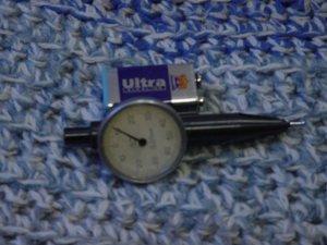 Vintage Soviet Russian USSR Interapid  Dial Test Indicator Ч-9437 ��СТ-5584-50