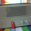 "Vintage Soviet propaganda wired RADIO ""Aurora"" USSR Russian cable speaker 1953"