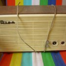 "Vintage Soviet propaganda wired RADIO ""RIGA"""" USSR Russian cable speaker 1962"