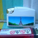 Cute Baide Refillable Plastic Gas Lighter For Collection Paris Tower Eiffel