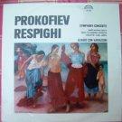 Vintage Prokofiev Respighi Symphony - Concerto  Supraphon SUA 10689 LP From 1965