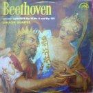 Vintage Janacek Quartet Plays  L. Bethoven  Supraphon SUA 10415 LP About 1965