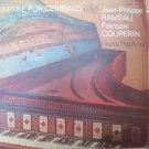 Vintage DDR Werke Fur Cembalo Eterna 8 26 195 LP Rameau & Couperin