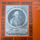 Vintage DDR Carl P. E.. Bach Symphonic Ochestras No.1,2,3,4  Eterna 8 25 923 LP