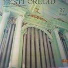 Vintage Soviet Russian Ussr Estonian Organum  Melodya LP C10 28025 005