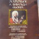 Vintage Soviet Russian A. Vivaldi Gloria S. Sondeckis Melodya LP A10 00085 005