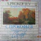 Vintage Soviet Russian Ussr S. Prokofiev  Symphony No.4 Melodya LP A10 00247 005