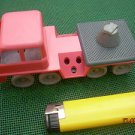 VINTAGE RUSSIAN SOVIET USSR  FIRE TRUCK TOY PLASTIC  MISSING PARTS