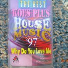 Indonesia House Music 1997  Cassette Indonesia Release Made in Indonesia