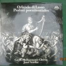 Vintage Czech Orlando Di Lasso Psalmi Poenitentiales  Supraphon  10 2531 2LP