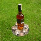 Vintage Rare 20 Century Soviet Armenia Melchior Brandy Vodka 6 Shots On Plate