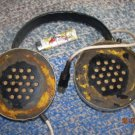 Antique Rare Huge Soviet Russian Ussr Stereo  Headphones  About 1970