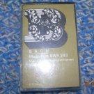 Vintage Cassette J. S. Bach Magnificat BWV 243 Kantate BWV 10  Made In DDR