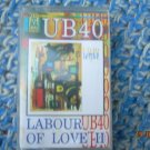 UB40 Labour Of Love  Cassette  Polish Poland Press