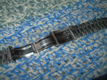 VINTAGE SOVIET RUSSIAN USSR  WATCH STAINLESS STEEL WRIST BAND ABOUT 1979