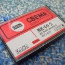 Vintage Soviet Russian Made IN USSR SVEMA MK 60 2 Cassette  2x30 min 1986 NOS