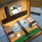 Vintage Soviet Gentleman Travel Vanity Set Made In Czechoslovakia