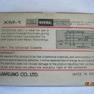 Rare Vintage Samsung XM-1 C90 Cassette  2x45 min