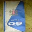 Vintage Soviet Yugoslavia Empty EXTRA  Cigarettes Soft Pack 1978 For Collectors