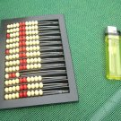 Antique Soviet Russian Ussr  Counting Frame Bakelite Abacus RIGA 1960