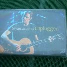 Bryan Adams Unplugged Audio Cassette  Made In Poland Polish Press